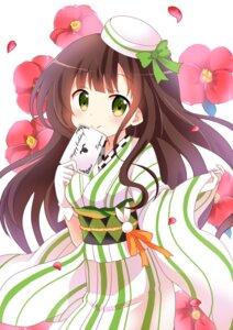 Rating: Safe Score: 34 Tags: gochuumon_wa_usagi_desu_ka? kimono massala ujimatsu_chiya User: fairyren