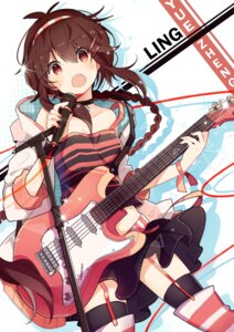 Rating: Safe Score: 51 Tags: feng_hu guitar stockings thighhighs vocaloid yuezheng_ling User: nphuongsun93