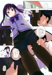Rating: Questionable Score: 22 Tags: gochuumon_wa_usagi_desu_ka? komone_ushio pantsu pantyhose suteuka_no_koya tedeza_rize waitress User: fireattack