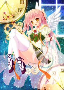 Rating: Safe Score: 46 Tags: alm thighhighs wings User: 椎名深夏