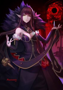Rating: Safe Score: 30 Tags: cleavage dress fate/apocrypha fate/grand_order fate/stay_night pointy_ears semiramis_(fate) yun_lin User: Mr_GT