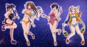 Rating: Questionable Score: 47 Tags: bikini chuunibyou_demo_koi_ga_shitai! cleavage dekomori_sanae eyepatch garter nibutani_shinka swimsuits takanashi_rikka tsuyuri_kumin User: fireattack