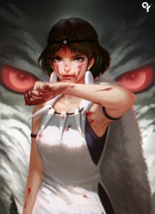 Rating: Safe Score: 66 Tags: blood liang_xing mononoke_hime san User: Mr_GT