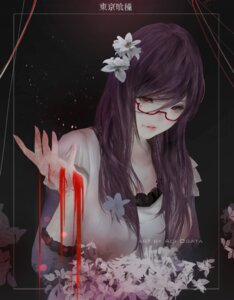 Rating: Safe Score: 36 Tags: aoi_ogata blood kamishiro_rize tokyo_ghoul User: BattlequeenYume