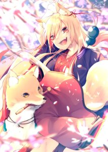Rating: Safe Score: 20 Tags: animal_ears chita_(ketchup) japanese_clothes User: Mr_GT