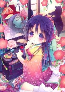 Rating: Safe Score: 21 Tags: kimono mitaonsya neko User: Bulzeeb