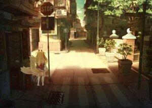 Rating: Safe Score: 31 Tags: animal_ears kitsune landscape miko shiro_dai_kitsune tail thighhighs User: mattiasc02