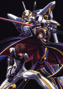 Rating: Safe Score: 14 Tags: code_geass kimura_takahiro kururugi_suzaku lelouch_lamperouge male mecha nakada_eiji User: Aurelia