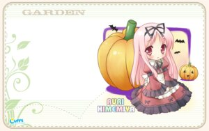 Rating: Safe Score: 16 Tags: chibi cuffs garden halloween himemiya_ruri kanekiyo_miwa lolita_fashion pantyhose wallpaper User: fireattack