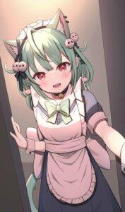 Rating: Safe Score: 23 Tags: animal_ears hololive maid nekomimi starfox1015 tail uruha_rushia User: BattlequeenYume