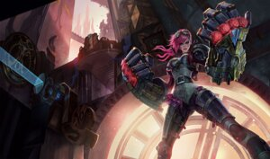 Rating: Safe Score: 22 Tags: bodysuit league_of_legends tagme vi_(league_of_legends) User: Radioactive