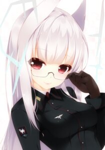 Rating: Safe Score: 82 Tags: animal_ears heidimarie_w_schnaufer megane mogu strike_witches User: 椎名深夏