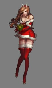 Rating: Questionable Score: 17 Tags: black_survival bra christmas cleavage dress horns pantyhose tagme thighhighs transparent_png User: Radioactive