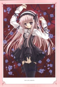 Rating: Safe Score: 9 Tags: lolita_fashion pantsu ruby_rose_(tinkle) stockings thighhighs tinkle User: noirblack
