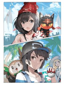 Rating: Safe Score: 25 Tags: alchemaniac lillie_(pokemon) litten mizuki_(pokemon) pokemon pokemon_sm rowlet User: nphuongsun93
