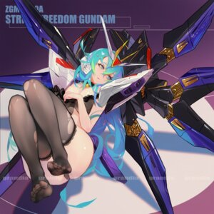 Rating: Questionable Score: 36 Tags: feet grandialee gundam gundam_seed gundam_seed_destiny lingerie mecha_musume pantsu strike_freedom_gundam thighhighs torn_clothes User: Dreista