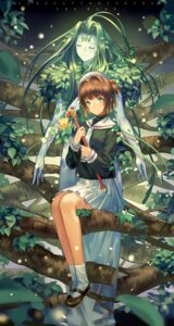 Rating: Safe Score: 27 Tags: card_captor_sakura kinomoto_sakura norizc seifuku the_wood weapon User: Mr_GT