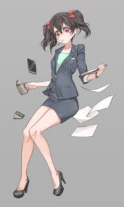 Rating: Safe Score: 28 Tags: business_suit heels love_live! yazawa_nico yohan1754 User: Mr_GT
