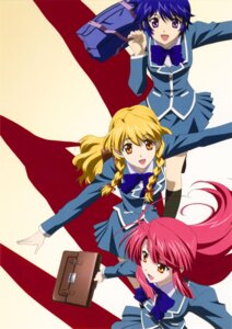 Rating: Safe Score: 6 Tags: kannagi_ayano kaze_no_stigma kudou_nanase shinomiya_yukari User: Radioactive