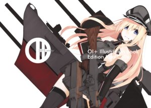 Rating: Safe Score: 24 Tags: amagi_mikoto bismarck_(kancolle) gun kantai_collection thighhighs User: Mr_GT