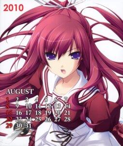 Rating: Safe Score: 9 Tags: 11eyes calendar chikotam kusakabe_misuzu seifuku User: midzki