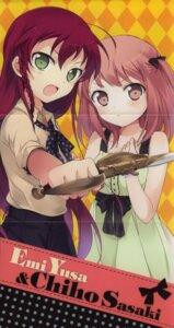 Rating: Safe Score: 18 Tags: 029 crease hataraku_maou-sama! sasaki_chiho yusa_emi User: Radioactive