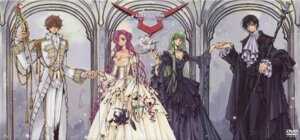 Rating: Safe Score: 37 Tags: c.c. clamp cleavage code_geass crease dress euphemia_li_britannia kururugi_suzaku lelouch_lamperouge User: Radioactive