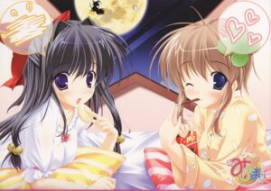 Rating: Safe Score: 26 Tags: marmalade mikeou miraroma pajama takahara_ai tsukimiya_kaede User: fireattack
