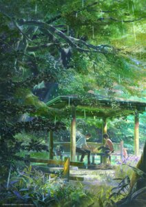 Rating: Safe Score: 31 Tags: koto_no_ha_no_niwa landscape shinkai_makoto shinomiya_yoshitoshi User: リナ