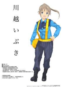 Rating: Safe Score: 12 Tags: kawagoe_ibuki mibu_natsuki tetsudou_musume uniform User: Kaixa