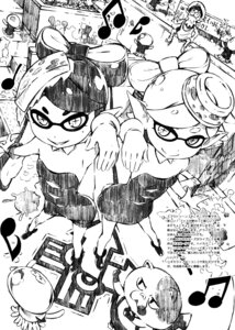 Rating: Safe Score: 17 Tags: 5_nenme_no_houkago kantoku monochrome pointy_ears splatoon User: Hatsukoi