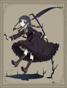 Rating: Safe Score: 31 Tags: dress heels kuro_mozzarella weapon User: Radioactive