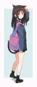 Rating: Safe Score: 30 Tags: animal_ears fujisawa_machi nekomimi seifuku tail User: nphuongsun93