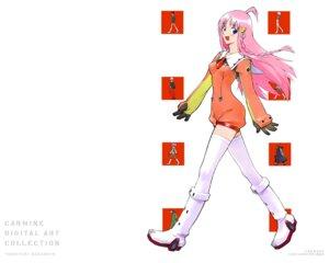 Rating: Safe Score: 10 Tags: diebuster nono sadamoto_yoshiyuki wallpaper User: Radioactive