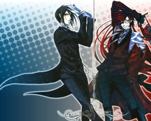 Rating: Safe Score: 11 Tags: grell_sutcliff kuroshitsuji male megane sebastian_michaelis toboso_yana wallpaper User: charunetra