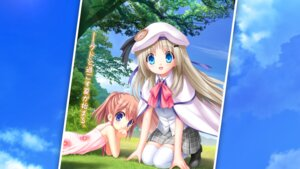 Rating: Safe Score: 25 Tags: arizuki_shiina key kud_wafter little_busters! na-ga noumi_kudryavka seifuku thighhighs User: bakatori