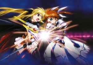 Rating: Safe Score: 17 Tags: fate_testarossa mahou_shoujo_lyrical_nanoha mahou_shoujo_lyrical_nanoha_the_movie_1st takamachi_nanoha thighhighs User: blooregardo