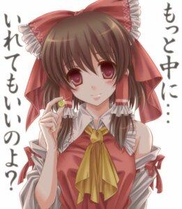 Rating: Safe Score: 22 Tags: hakurei_reimu miko monety touhou User: SciFi