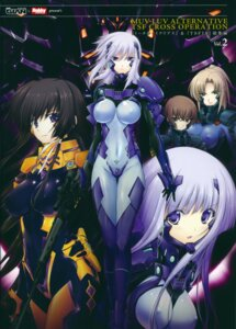 Rating: Questionable Score: 55 Tags: bodysuit cryska_barchenowa fukatsu_ratorowa gun inia_sestina mecha miyata_ao muvluv muvluv_alternative natasha_ivanova scanning_dust screening takamura_yui total_eclipse User: Radioactive