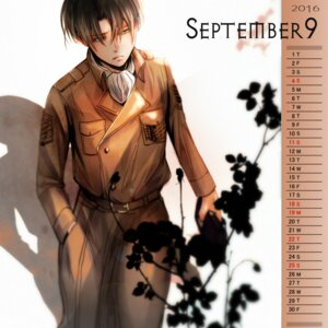 Rating: Safe Score: 4 Tags: calendar levi male shingeki_no_kyojin tagme uniform User: charunetra