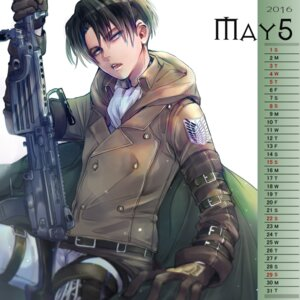 Rating: Safe Score: 5 Tags: calendar levi male shingeki_no_kyojin tagme uniform weapon User: charunetra