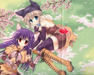Rating: Safe Score: 11 Tags: alchemist animal_ears crease fixme knight mitha ragnarok_online thighhighs User: Davison