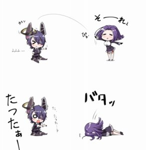 Rating: Safe Score: 18 Tags: chibi kantai_collection tanaka_kusao tatsuta_(kancolle) tenryuu_(kancolle) User: Radioactive