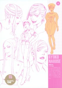 Rating: Safe Score: 7 Tags: character_design monochrome naruse_ryouko range_murata shangri-la uniform User: petopeto