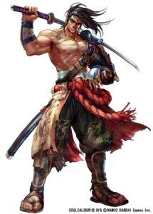 Rating: Safe Score: 6 Tags: armor heishirou_mitsurugi japanese_clothes male samurai soul_calibur sword weapon User: Radioactive