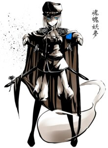 Rating: Safe Score: 16 Tags: bisuke konpaku_youmu monochrome myon touhou uniform User: Radioactive