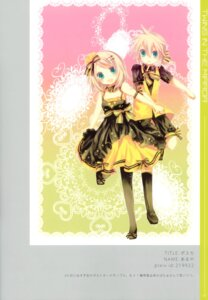 Rating: Safe Score: 10 Tags: aruya kagamine_len kagamine_rin lolita_fashion vocaloid User: fireattack