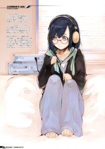 Rating: Safe Score: 15 Tags: fujishima headphones megane raving_phantom User: Hatsukoi