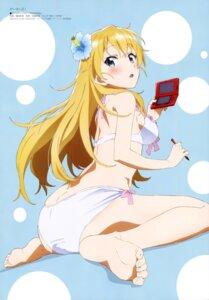 Rating: Questionable Score: 96 Tags: ass bikini feet gamers! shimada_kazuaki swimsuits tendou_karen User: drop