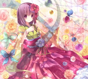 Rating: Safe Score: 59 Tags: hieda_no_akyuu japanese_clothes kisaragi_kiriha touhou User: hobbito